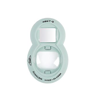 Obiectiv de prim-plan compatibil cu mini 9 mini 8 mini 8+ mini 7s instant film camera (albastru de gheață) albastru de gheață