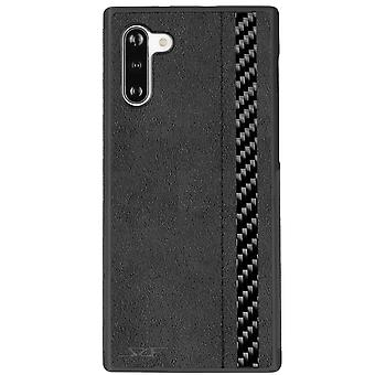 Samsung Note 10 Alcantara & Real Carbon Fiber Case | Classic Series
