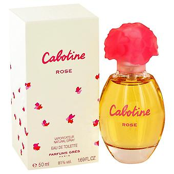 Cabotine Rose by Parfums Gres Eau De Toilette Spray 1.7 oz / 50 ml (Women)