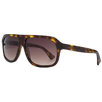 Französisch Anschluss Premium Boxy Sonnenbrille - Braun Tort