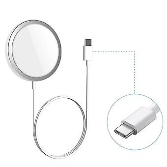 Boneruy p33 2-in-1 with magsafe cover charger base mount aluminium alloy desktop holder for iphone 12 series