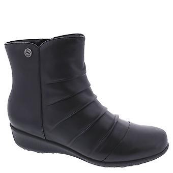 Drew Shoe Cologne Women's Therapeutic Diabetic Extra Depth Boot Leather Zipper