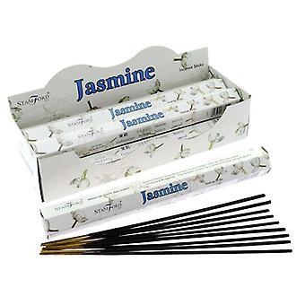 Stamford hex incense sticks - jasmine 6 supplied