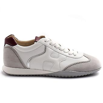 Dames Sneaker Hogan Olympia Z Grijs, Wit En Edged