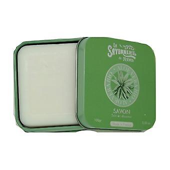 Soap Metal tin Aloe Vera BIO 100 g
