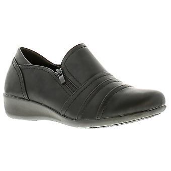 Dr Keller dr penelope con womens ladies flats shoes black UK Size