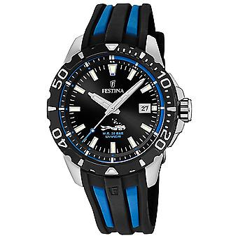 Festina the originals f20462/3 Watch for Analog Quartz Men with Silicone Bracelet F20462/4
