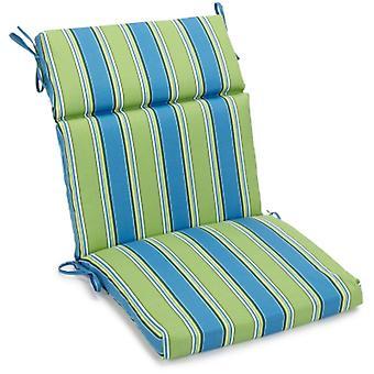 Coussin de chaise carrée extérieure en polyester de 18 pouces par 38 pouces - Haliwell Caribbean