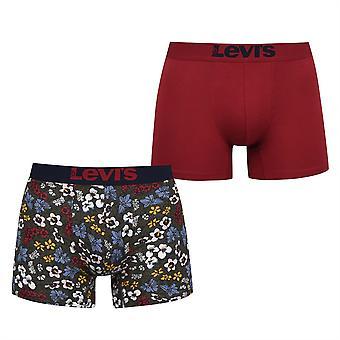 Levis Unisex Paire Boxers Elasticated Waistband Briefs Bottoms Sous-vêtements