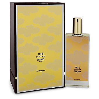 Memo Inle Eau de Parfum Spray By Memo 2.5 oz Eau de Parfum Spray