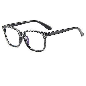 Vision flache Brille mit Anti-Blau Licht Rahmengläser, 2-teiliges Set mit Brille n.R.