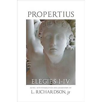 Propertius - Elegies I-IV by L Richardson - 9780806134680 Book