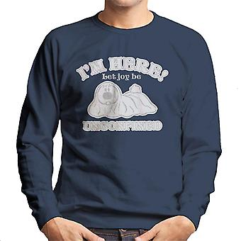 The Magic Roundabout Dougal Let Joy Be Unconfined Men's Sweatshirt