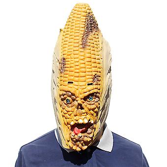 Corn Latex Mask Halloween Bar Party Show Cosplay Props