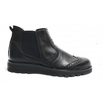 Мужская обувь Tony Wild Ankle Boot Bealtes Эластичная кожа Цвет Черный U18tw18