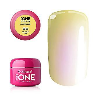 Base One - UV Gel - Metallic - Citronis - 25 - 5g