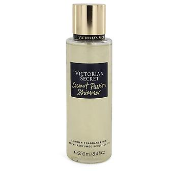 Victoria's Secret Coconut Passion Shimmer by Victoria's Secret Shimmer Fragrance Mist 8.4 oz