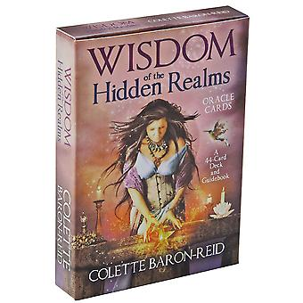 Rider Tarot Cards Hidden Realms English Version For Beginners Card Game