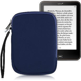FengChun Schutztasche für eReader - Neopren Tasche Hülle Cover Case Schutzhülle Dunkelblau - 17 x 12