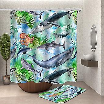Ocean Animals suihku verho
