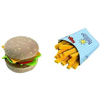 HABA - Play Food Hamburger en frietjes (stof) 1475