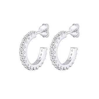 Elli Women's Pin Earrings Silver Stainless 925(3)