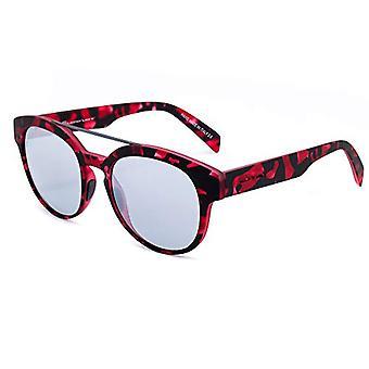 ITALIEN UAFHÆNGIGE 0900-142-000 Solbriller, Flerfarvet (Rojo / Sort), 50,0 Kvinde