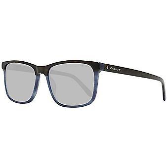 GANT EYEWEAR GA7105 Gafas de sol, La Habana/Otros/Azul, 56 Hombre