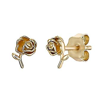 NOELANI Silver gold-breast earrings 925(3)