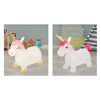 Baby Jumping Horse, Nadmuchiwana jazda na zwierzę, jednorożec bouncy gry sportowe