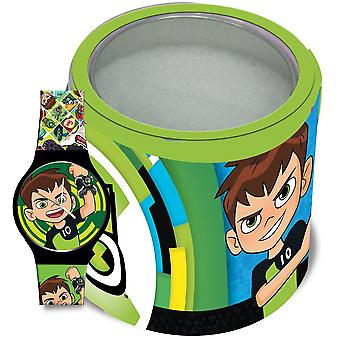 Ben 10 watch - tin box 500207