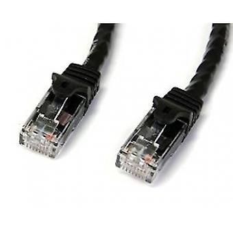 2m Preto Gigabit Snagless RJ45 UTP Cat6 Patch Cable - 2 m Patch Cord