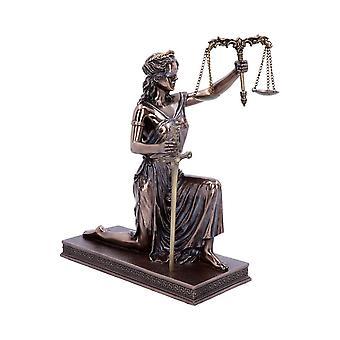 Lady Justice Bronze Ornament