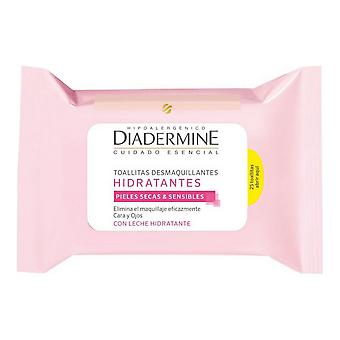 Make Up Remover Wipes Diadermine Moisturizing (25 uds)