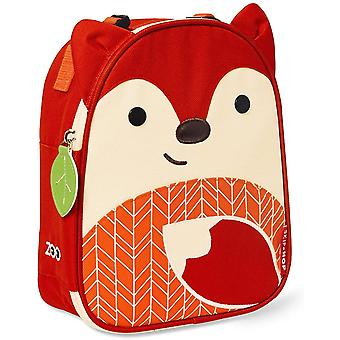 SkipHop Zoo Lunchie Insulated Lunch Bag, Ferguson Fox