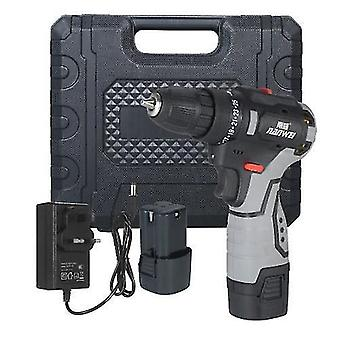 Brushless Lithium Electric Drill Two-speed Rechargeable Drill Household Electric Hand Drill Portable