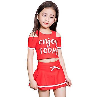 Swimsuit split skirt for girl