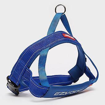 New EZY-DOG Quick Fit Harness XL Blue