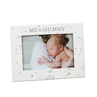 """6"""" x 4"""" - Bambino Resin Mummy &me fotolijst"""