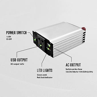1000w 12v Input Vehicle Power Converter With Reverse Connection Protection