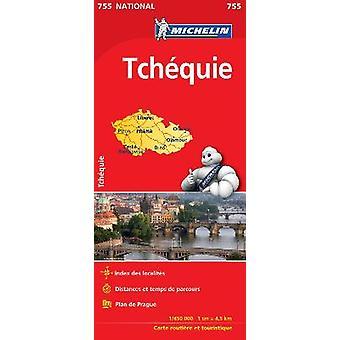 Czechia  Michelin National Map 755 Map Michelin National Maps 755