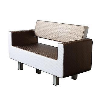 Conjuntos de móveis de salão com equipamentos de salão de beleza usados de sofá de espera