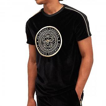 Glorious Gangsta Mavino Black Velour T-Shirt