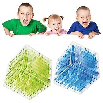 ホット 3 次元マジックキューブ迷路教育玩具 インテリジェンス おもちゃ