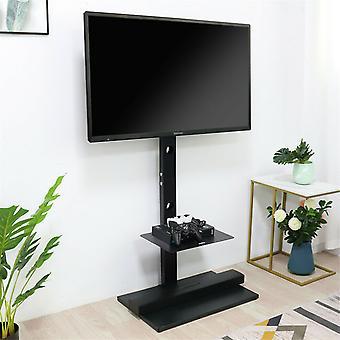 Hohe Boden-TV-Ständerhalterung mit Komponentenregal