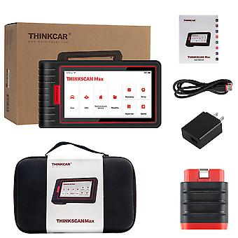 Thinkcar Thinkscan Max Full Systems Obd2 Diagnostic Scanner 28 Reset Service Bi-directional Test Scanner