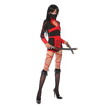 Ninja Cosplay Anime Disfraz de Halloween Para Mujeres Adulto Sexy Traje Superhéroe Disfraz Ninja Monos Lady Fitness Dress