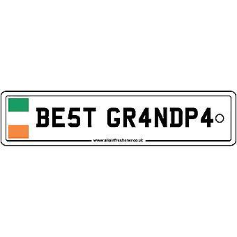 Irland - bedste bedstefar licens plade bil luftfriskere
