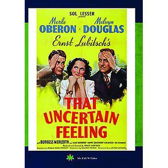 That Uncertain Feeling [DVD] USA import