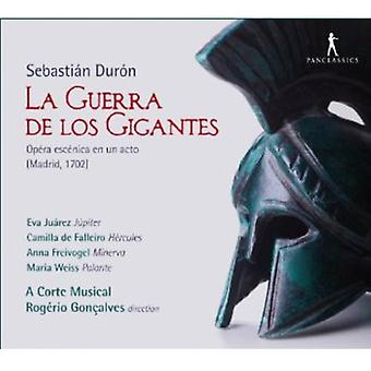 Sebastian Duron - Sebasti N Dur N: La Guerra De Los Gigantes [CD] USA import